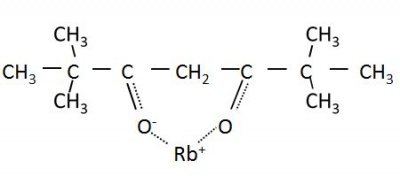 (2,2,6,6-tetramethyl-3,5-heptanedionato)rubidium